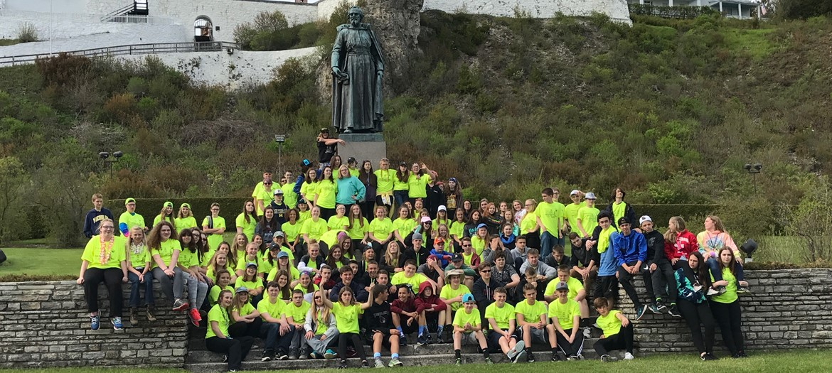 8th Grade Mackinac Trip 2017